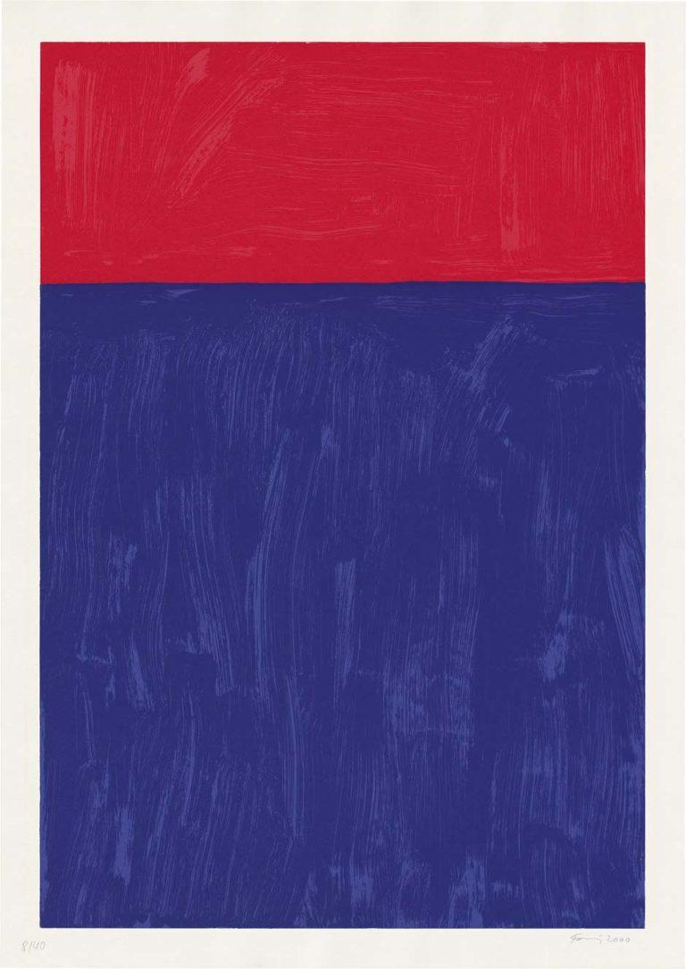 Günther Förg, Ohne Titel, 2000