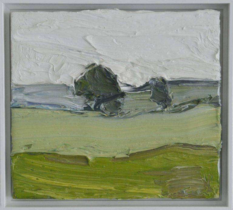 Klaus Fussmann, Landschaft bei Gelting