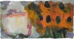 """Klaus Fußmann """"Rose und Sonnenhut"""" 1999"""